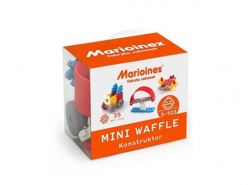 Klocki waffle mini 35 sztuk chłopiec