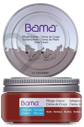 Krem do obuwia BAMA Premium 026 Bordowy 50ml w słoiczku