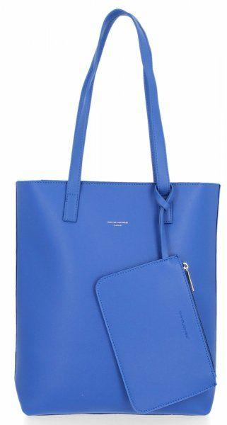 Klasyczna torebka damska David Jones Kobaltowa
