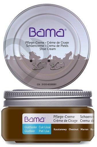 Krem do obuwia BAMA Premium 039 Kasztanowy 50ml w słoiczku