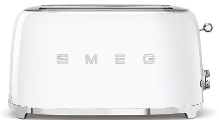 Toster na 4 kromki SMEG biały podłużny