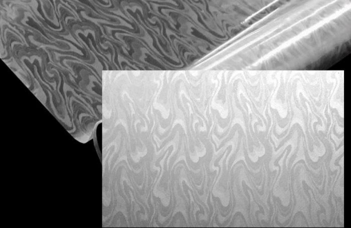 Statyczna folia okienna 90x150 dym