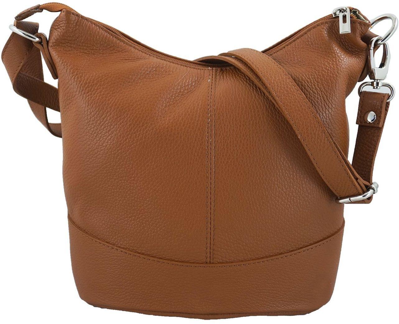 Modne torebki młodzieżowe - Brązowa jasna - Brązowy jasny