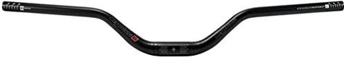 ergotec Kierownica Riser Bar 70 780 31, 8 Sandbl. aluminium 31,8, czarna, rozmiar uniwersalny
