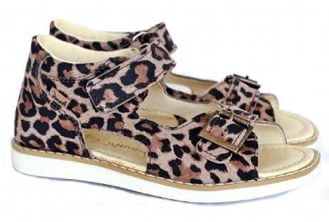 MRUGAŁA ROMA PANTERA 1104/1204/0 39 sandały sandałki dziewczęce