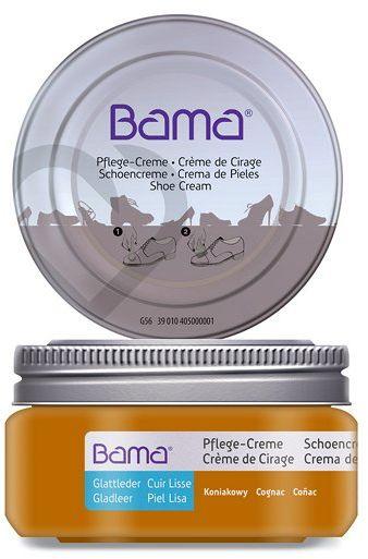 Krem do obuwia BAMA Premium 045 Koniakowy 50ml w słoiczku
