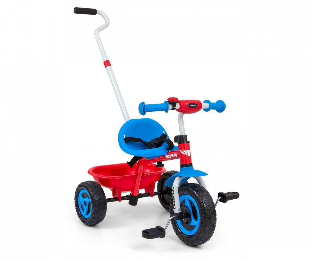 Milly Mally Rowerek Turbo Cool Red