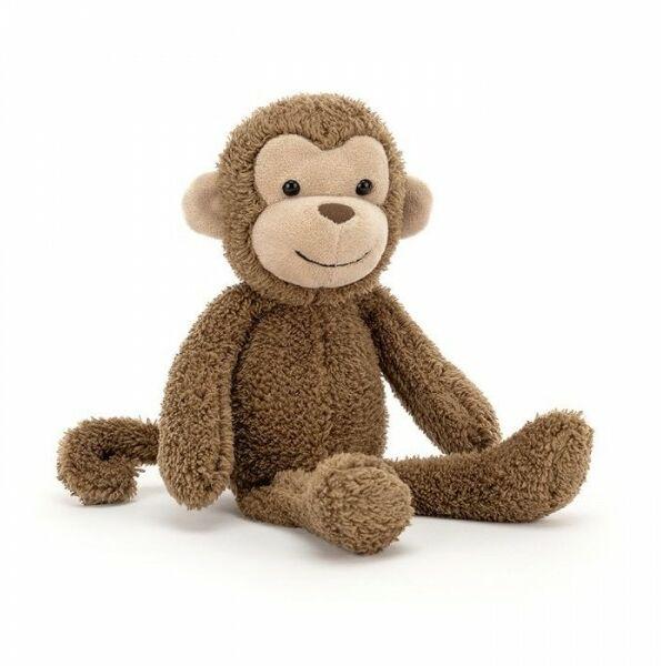 JellyCat - Przytulanka Maskotka Woogie Monkey Małpka 23x8 cm