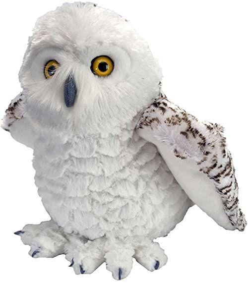 Wild Republic Śnieżna sowa pluszowa miękka zabawka, przytulanki zabawki, prezenty dla dzieci 30 cm