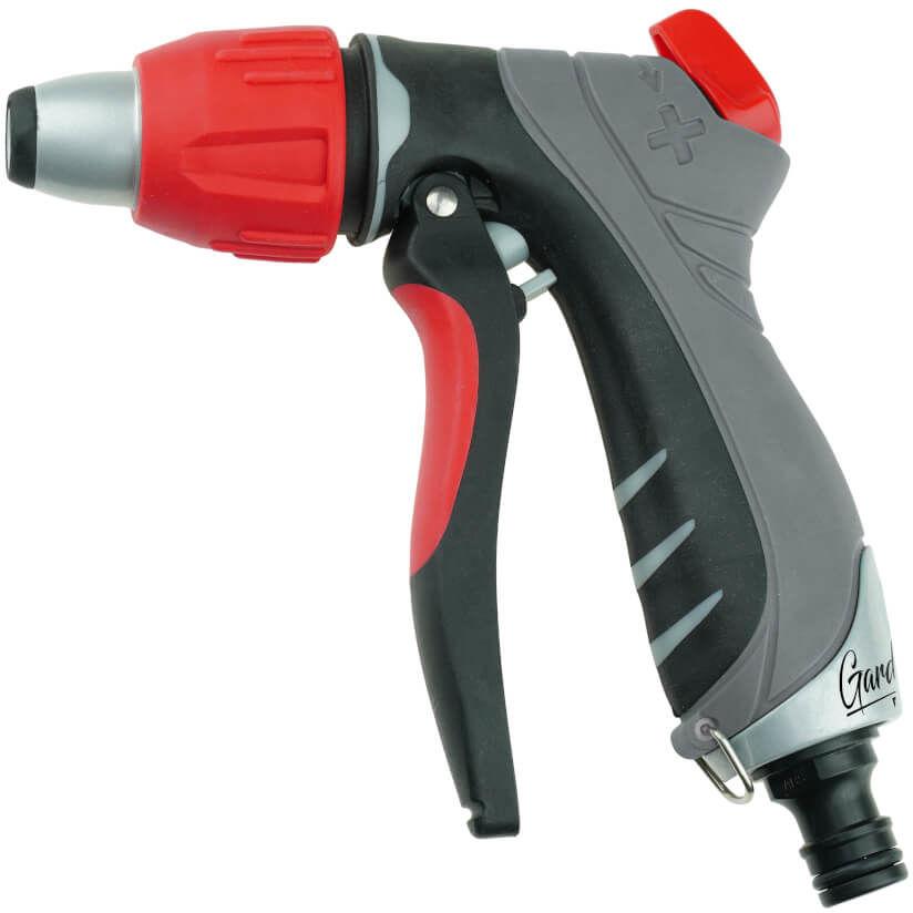 DEDRA GARDEN Pistolet zraszający prosty regulowana dysza METAL TRIGGER CONTROL (80N250K)