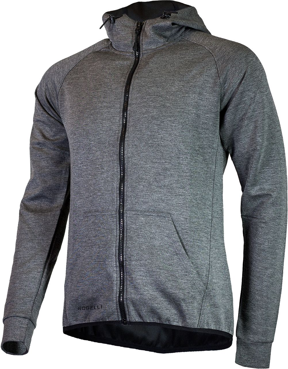 ROGELLI bluza męska z kapturem TRENING grey Rozmiar: M,050.600.XL