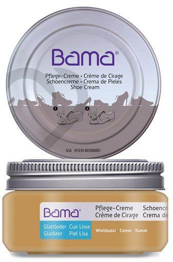 Krem do obuwia BAMA Premium 212 Kamel Wielbłądzi 50ml w słoiczku