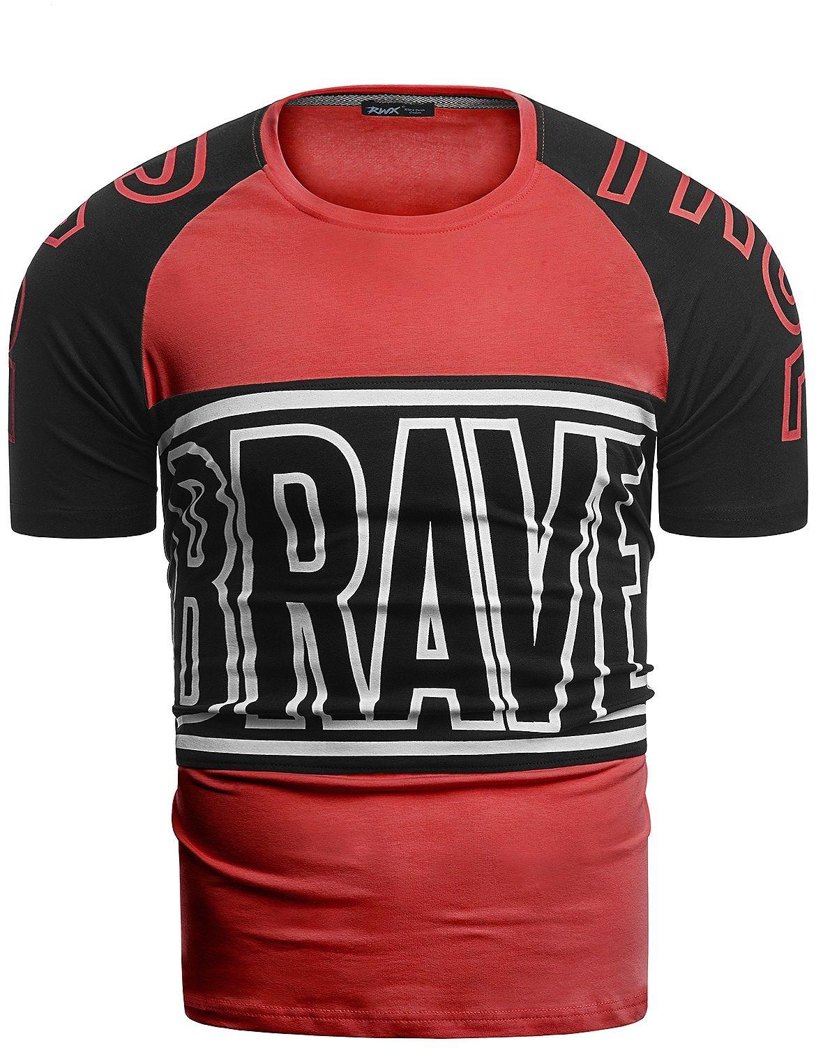 Męska koszulka t-shirt 2070 - czerwona