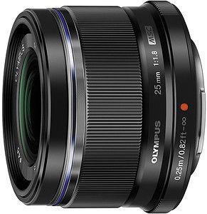 Obiektyw Olympus M. Zuiko Digital 25mm f/1.8 (czarny)
