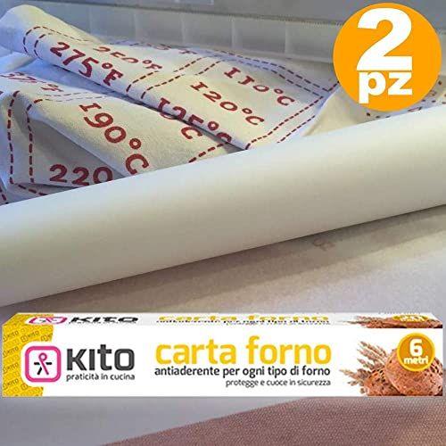 Trade Shop Traesio Rolka papieru do piekarnika 41 g/m  do żywności 6 m 280  dla słodyczy