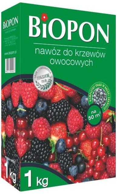 Biopon Nawóz do krzewów owocowych 1kg 360489