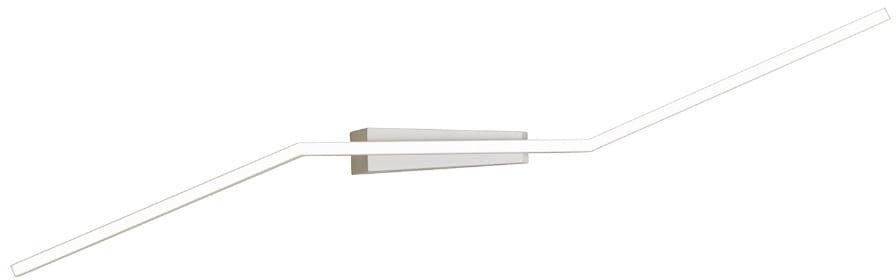 Maxlight Origami C0166 plafon lampa sufitowa biały geometryczna metal nowoczesna 1x30W LED 3000K 23cm