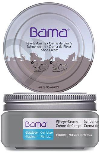 Krem do obuwia BAMA Premium 159 Popielaty 50ml w słoiczku