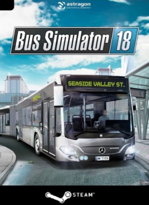 Bus Simulator 18 (PC) klucz Steam