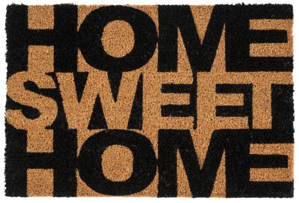 Wycieraczka wewnętrzna SWEET HOME 60 x 40 cm kokos INSPIRE