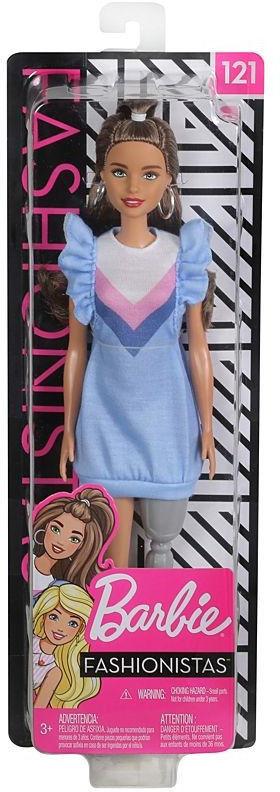 Mattel Barbie Fashionistas. FXL54 Lalka z protezą