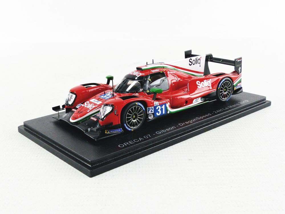 Spark S7916 miniaturowy model z kolekcji, biały/czerwony