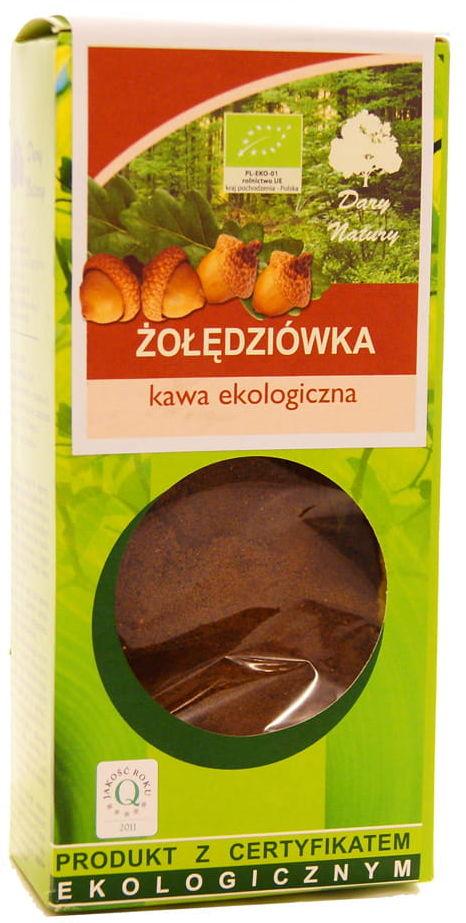 Żołędziówka kawa ekologiczna BIO - Dary Natury - 100g