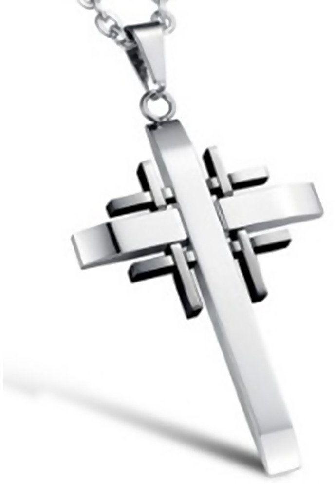 Zawieszka Damsko Męska Stal Szlachetna Krzyż