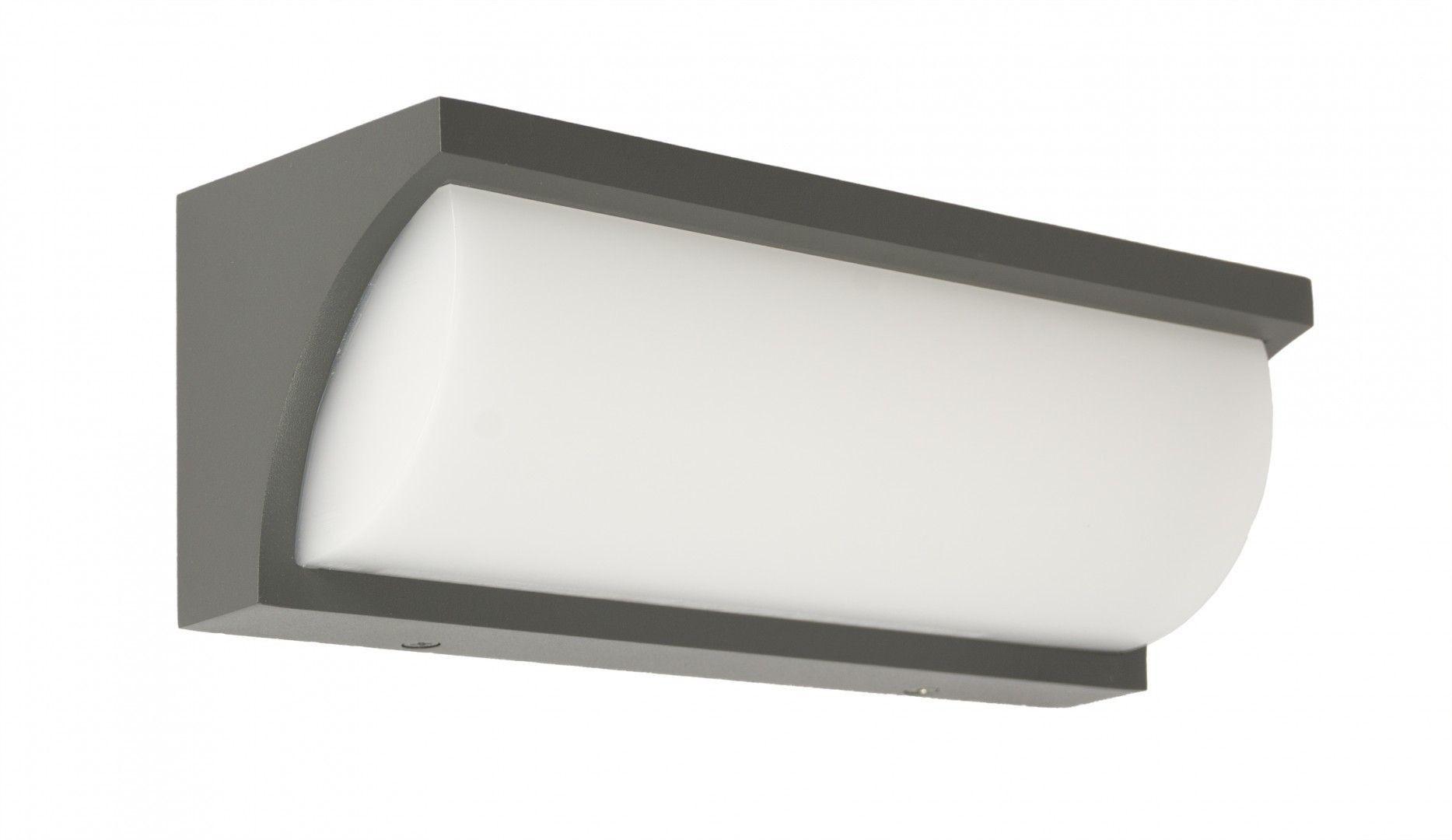 Kinkiet elewacyjny LED Mona IP65 13W antracyt MN19301 - Su-ma Do -17% rabatu w koszyku i darmowa dostawa od 299zł !