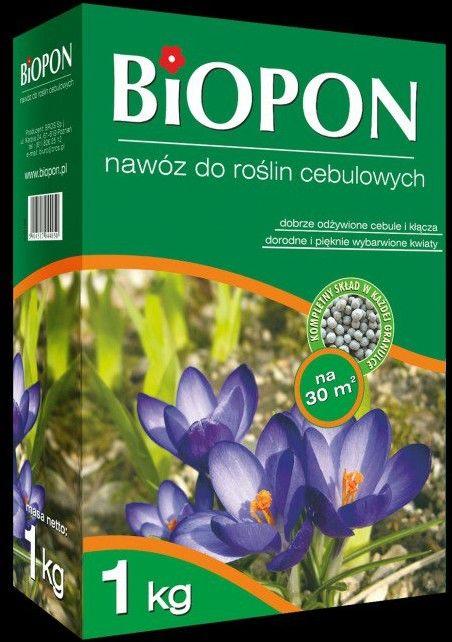 Biopon Nawóz do roślin cebulowych 1kg 360490