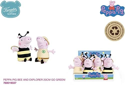 Peppa Pig - Zabawka przedszkolna, beżowa (Famosa 1)