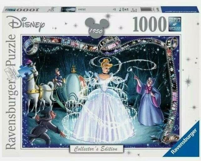 Puzzle 1000 Walt Disney - Kopciuszek - Ravensburger