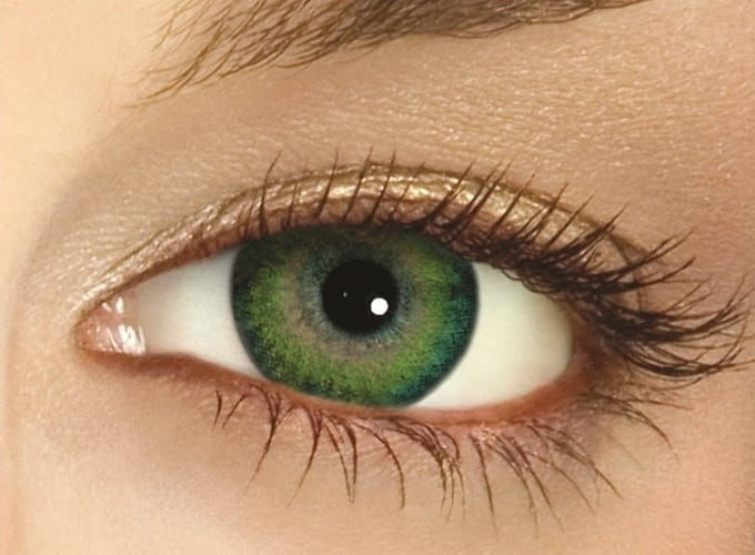 FreshLook Dimensions Sea Green, 2 szt.