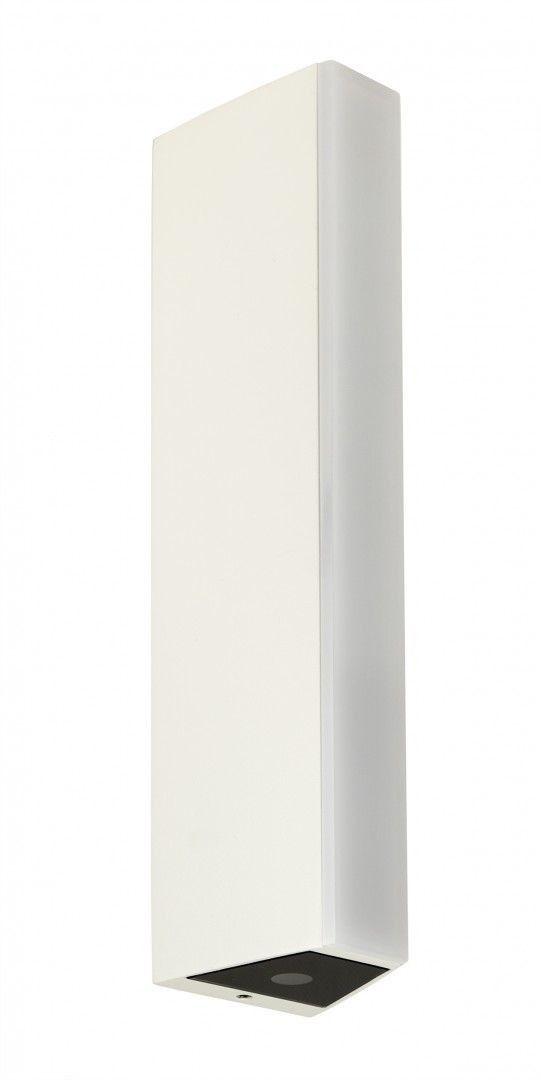 Kinkiet elewacyjny 3 punktowy LED 6W Tin biały M1401 W IP54 - Su-ma Do -17% rabatu w koszyku i darmowa dostawa od 299zł !