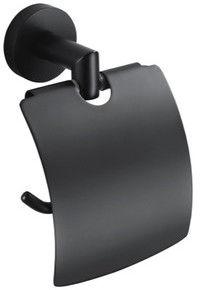 Classic Black Stella uchwyt na papier toaletowy czarny - 07.440-B