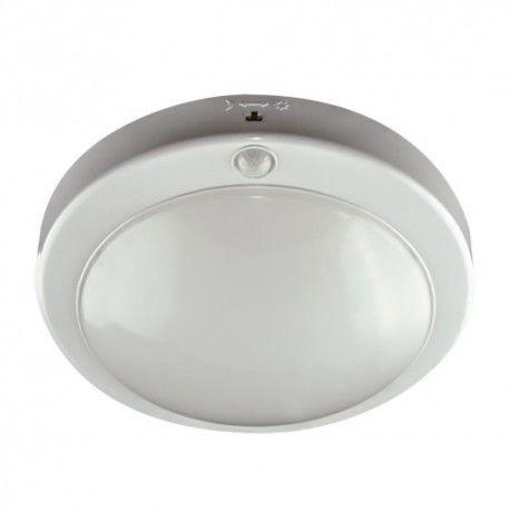 Plafoniera SMD LED 18W 4000K Z CZUJNIKIEM RUCHU IP42 LOPEZ LED S 5945