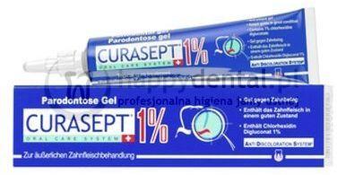 CURASEPT ADS 100 żel do intensywnego, miejscowego leczenia dziąseł z chlorheksydyną 1.00% - 30ml