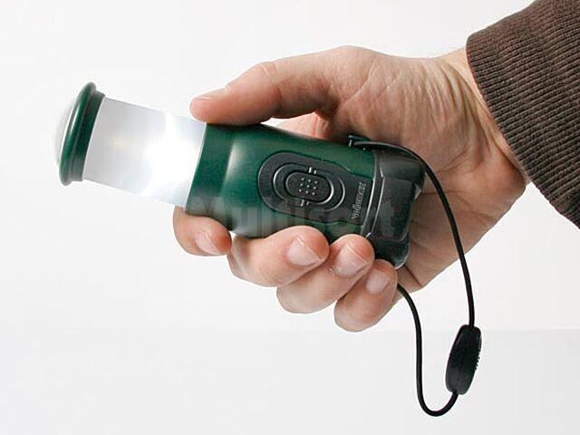 Mini lampka kempingowa 4+1 LED