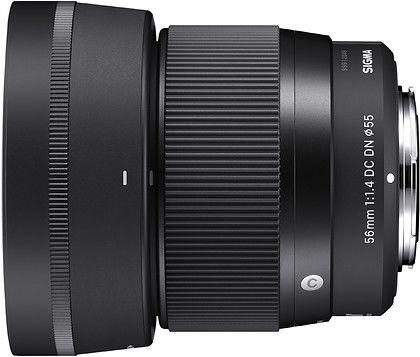 Obiektyw Sigma 56mm f/1.4 DC DN Contemporary (Mikro 4/3) + Filtr UV Marumi Fit+Slim MC, 55mm gratis + 5 lat gwarancji