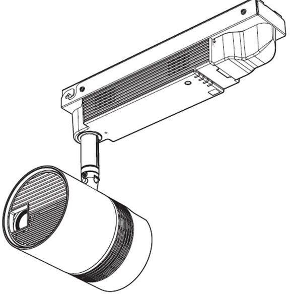 Panasonic ET-JPC100WE zestaw mocowania sufitowego - biały