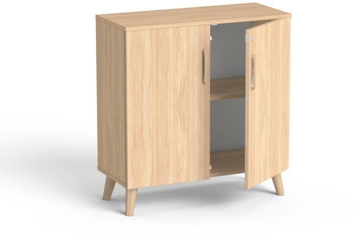 2OH Szafka biurowa SV-10D drewno SMB Dąb amber