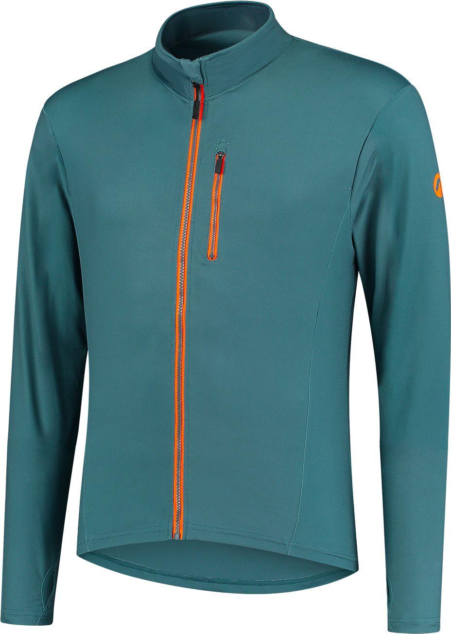 ROGELLI Bluza do biegania męska ESSENCE - niebieska Rozmiar: 2XL,830.828.XL