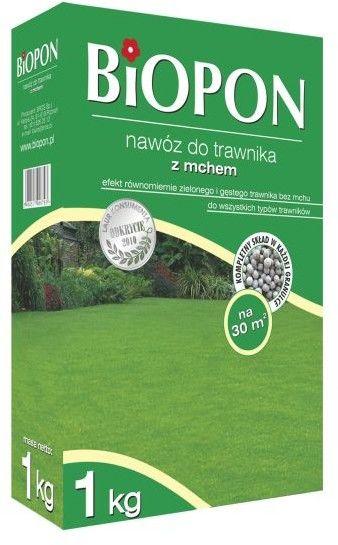 Biopon Nawóz do trawnika z mchem 1kg 233044