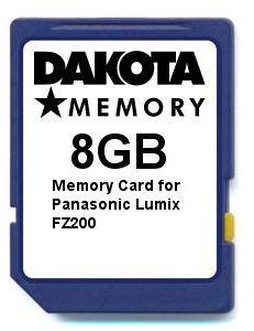 Karta pamięci 8 GB do Panasonic Lumix FZ200