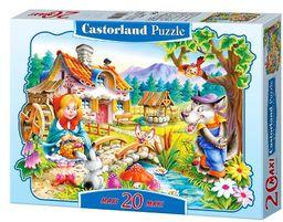Castorland  Santa Claus (PZ. Maxi Puzzle, wielobarwne (20)