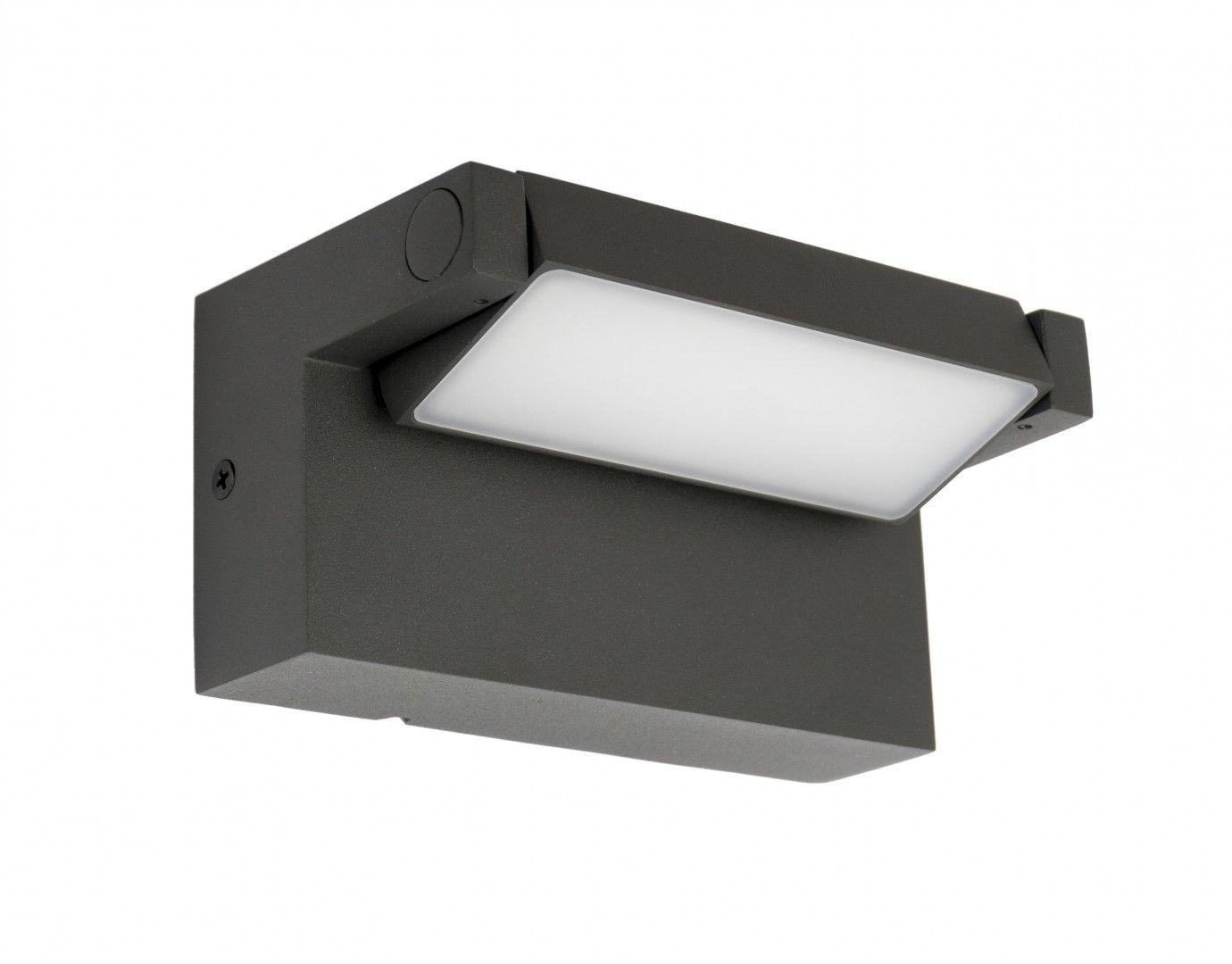 Kinkiet elewacyjny LED regulowany IP54 Rota antracyt RT-K100 - Su-ma Do -17% rabatu w koszyku i darmowa dostawa od 299zł !