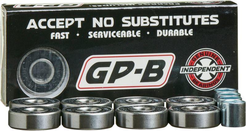 łożyska INDEPENDENT BEARINGS GP-B ABEC 7 Black