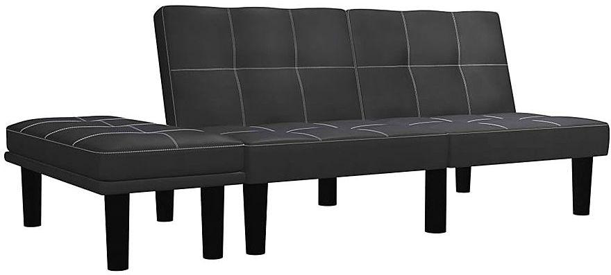 Rozkładana sofa Mirja - czarna