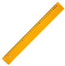 Leniar Linijka kolorowa 30cm żółty plastik
