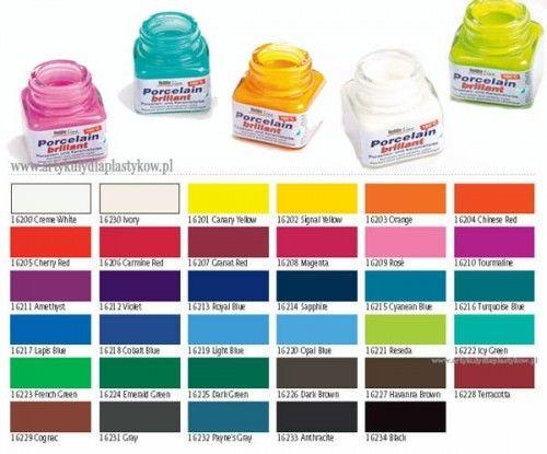 Farby do Szkła i Porcelany Kreul Glass&Porcelain 20 ml